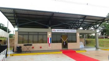 Aduanas inauguro en la fecha nuevo puesto de control en Hernandarias