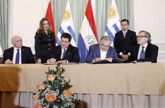 Comienzan los tratados de cooperación Uruguay Paraguay