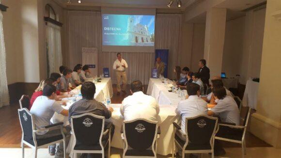 Exitosa capacitacion de Cisco en Distecna Paraguay