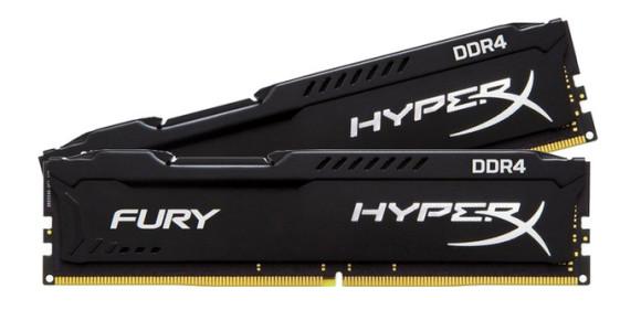 Hyperx presenta dos kits de Fury DDR4