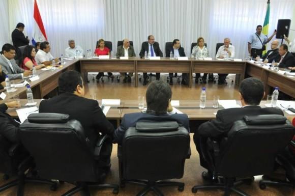 Movilizaciones en toda la frontera de Paraguay