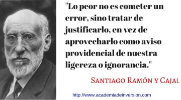 Foto Santiago Ramon y Cajal