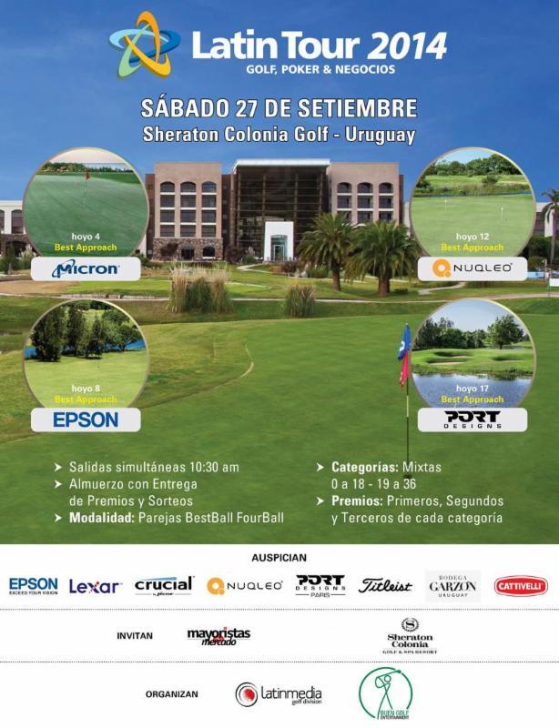 Se viene el debut de Latintour en  Sheraton Colonia - Uruguay